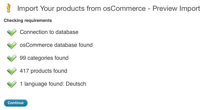 Migrate from osCommerce or ZenCart to WooCommerce