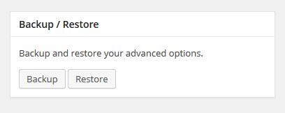 import from ebay advanced option - backup and restore